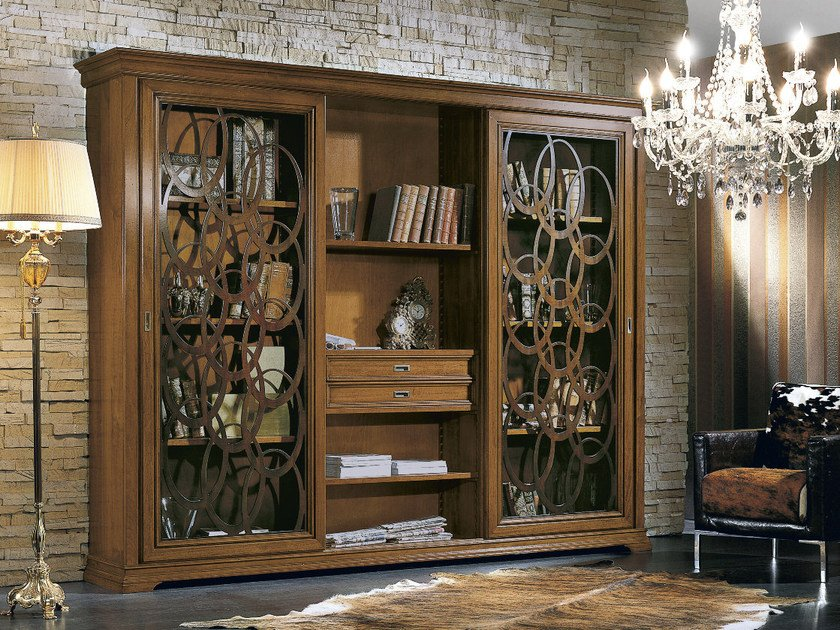 Bookcase with drawers ARMONIE | Bookcase by Arvestyle