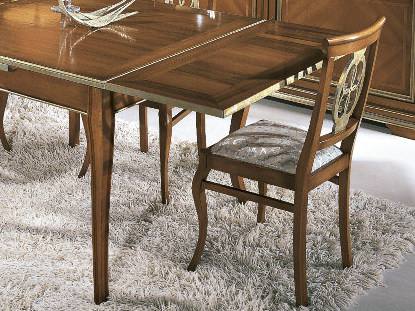 Sedia imbottita in legno massello ARMONIE | Sedia by Arvestyle