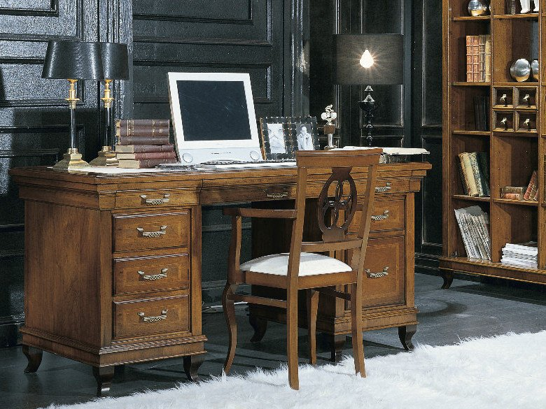 Executive desk with drawers ARMONIE | Office desk by Arvestyle