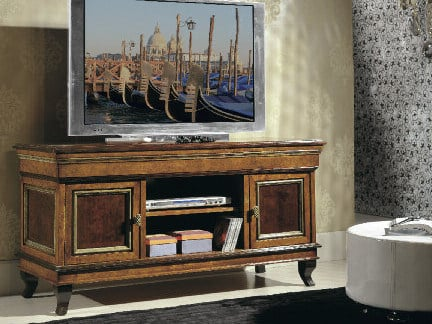 Low wooden TV cabinet ARMONIE | TV cabinet by Arvestyle