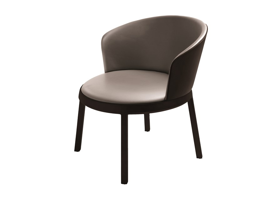 Leather easy chair ARO 695M by Capdell