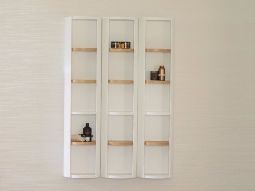 Suspended wooden bathroom cabinet ARO | Bathroom cabinet by Systempool