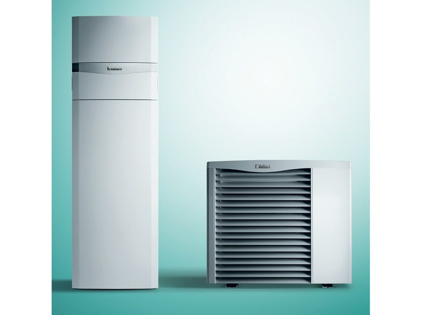 Air to water Heat pump aroTHERM + uniTOWER by VAILLANT