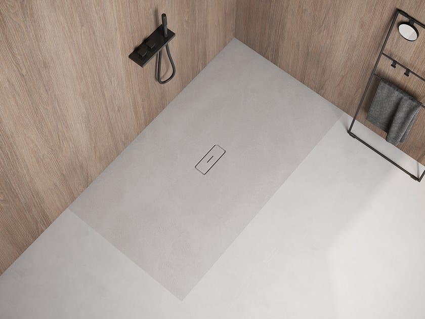 Piatto doccia rettangolare ultrapiatto ARQ by Hidrobox