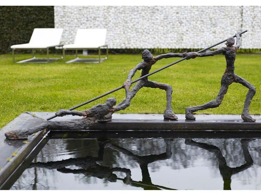Bronze sculpture ARRANGE by Gardeco
