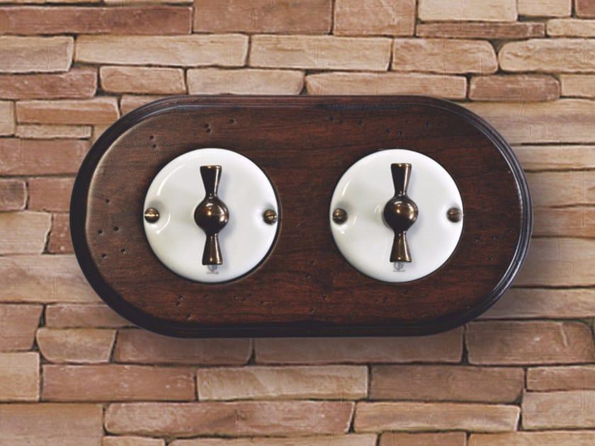 Electrical socket ARREDA ROUND - 1 by GI Gambarelli
