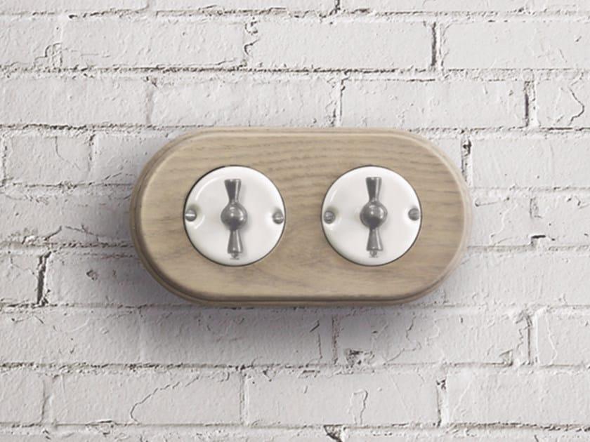 Electrical socket ARREDA ROUND - 2 by GI Gambarelli