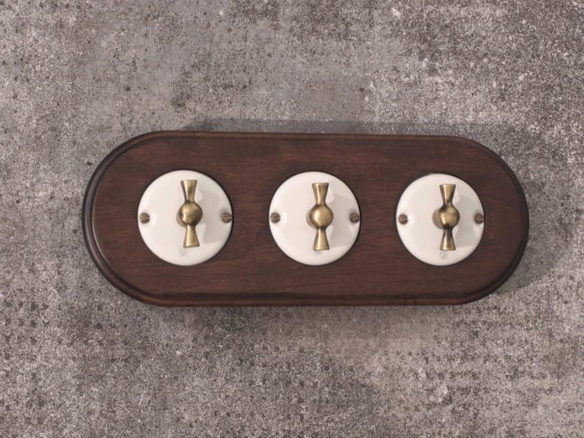 Electrical socket ARREDA ROUND - 5 by GI Gambarelli