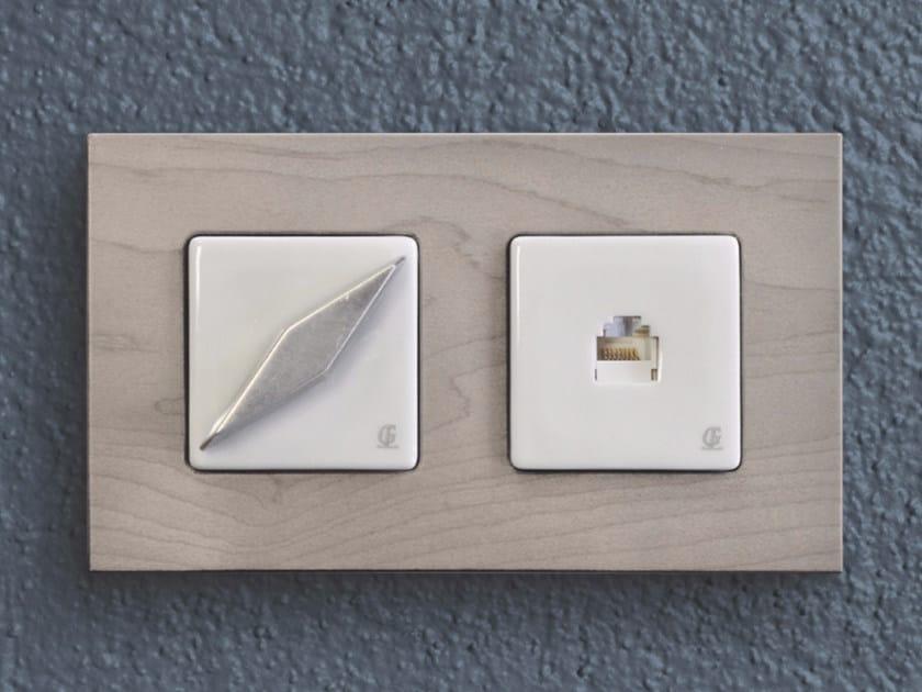Electrical socket ARREDA SQUARE - 11 by GI Gambarelli