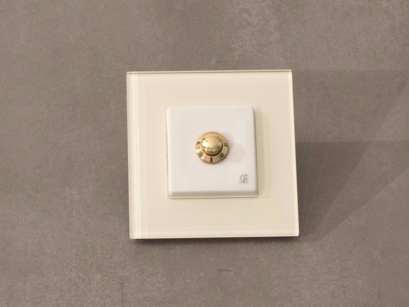 Push button ARREDA SQUARE - 3 by GI Gambarelli