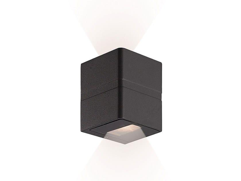 Lampada da parete per esterno a LED in alluminio ARRIS A by Terzo Light