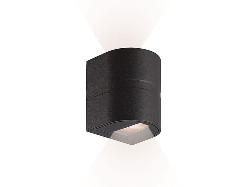 Lampada da parete per esterno a LED in alluminio ARRIS B by Terzo Light