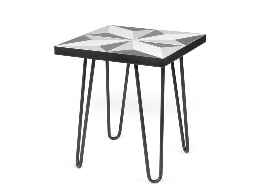 Square side table ARROW | Square coffee table by TemaHome