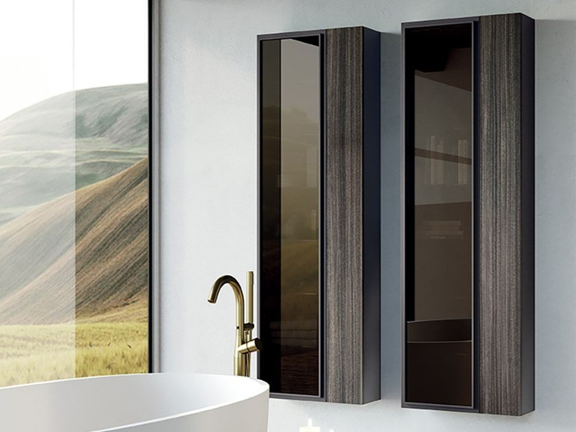 Art 2 Bathroom Wall Cabinet Art Collection By Mobil Crab Design Gabriele Moscatelli Danilo Bonfanti