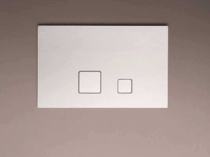 Contemporary style chrome-plated metal flush plate ART. 8403 | Flush plate by Fantini Rubinetti