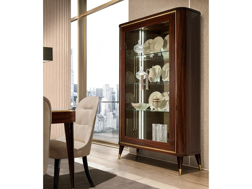 Wooden display cabinet RICHMOND | Display cabinet by Barnini Oseo