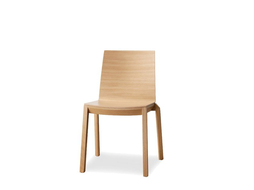 Stackable plywood chair ARTA | Stackable chair by Wiesner-Hager