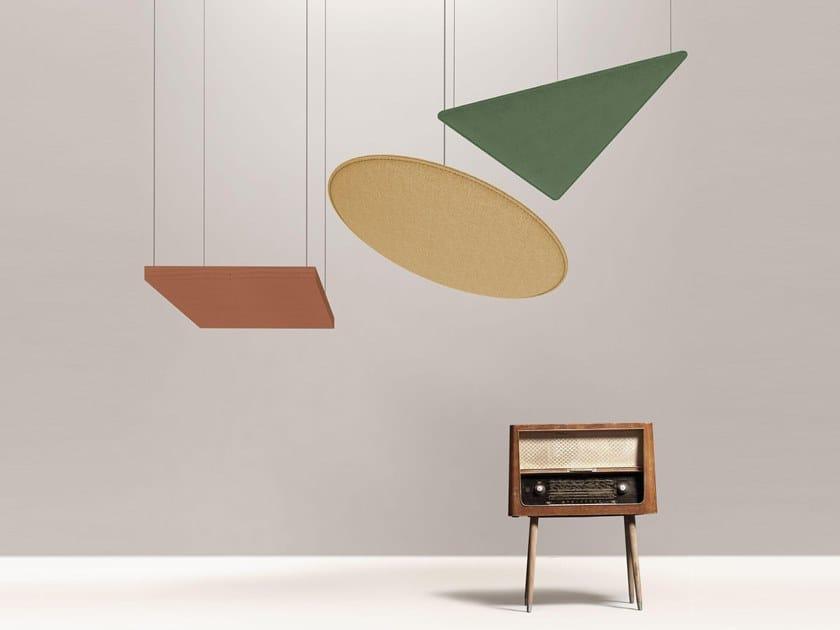 Trevira® CS hanging acoustical panel ARTÈ CEILING by DPS FLOOR