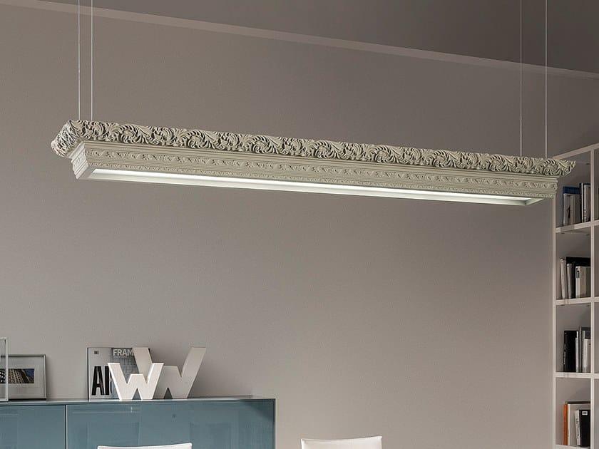 LED polyurethane pendant lamp ARTÉ LED LINEAR S1 by Masiero