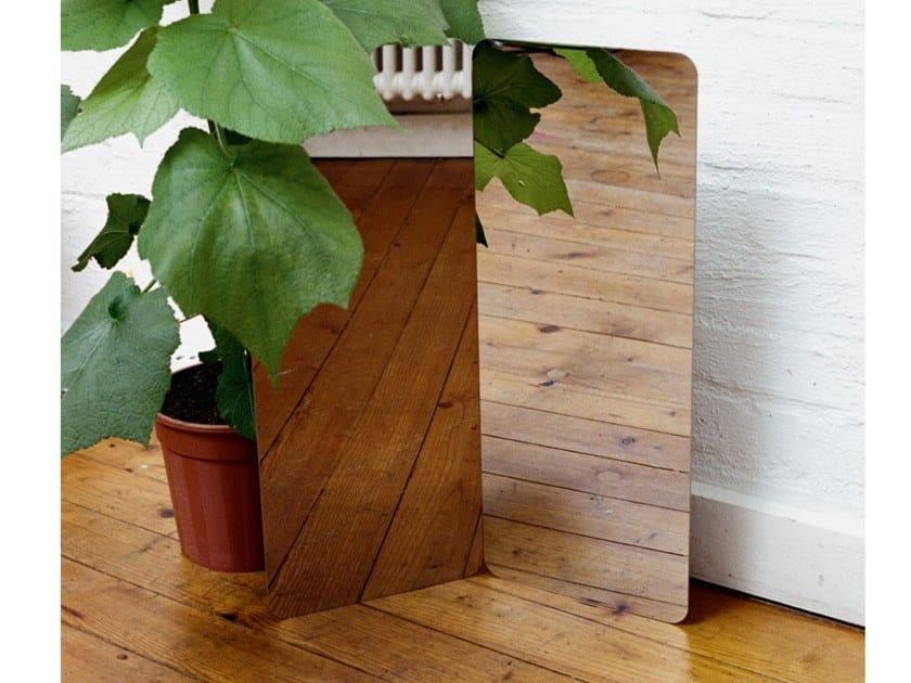 Countertop rectangular mirror ARTEK - 124° MIRROR Large by Archiproducts.com