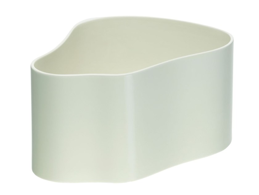 Ceramic plant pot ARTEK - RIIHITIE A Large white by Archiproducts.com