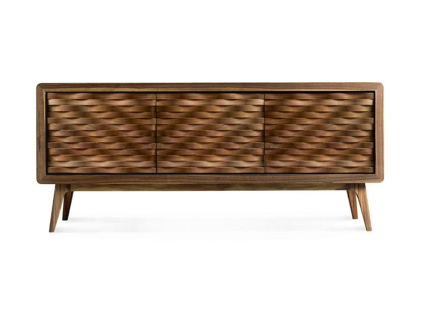 Solid wood sideboard with doors ARTES A-130 by Dale Italia