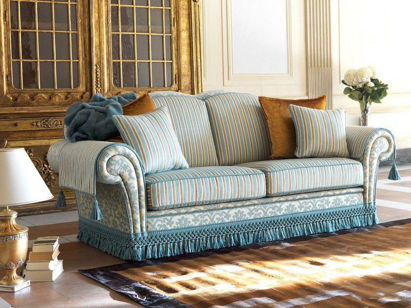 3 seater fabric sofa ARTHUR | Classic style sofa by Domingo Salotti