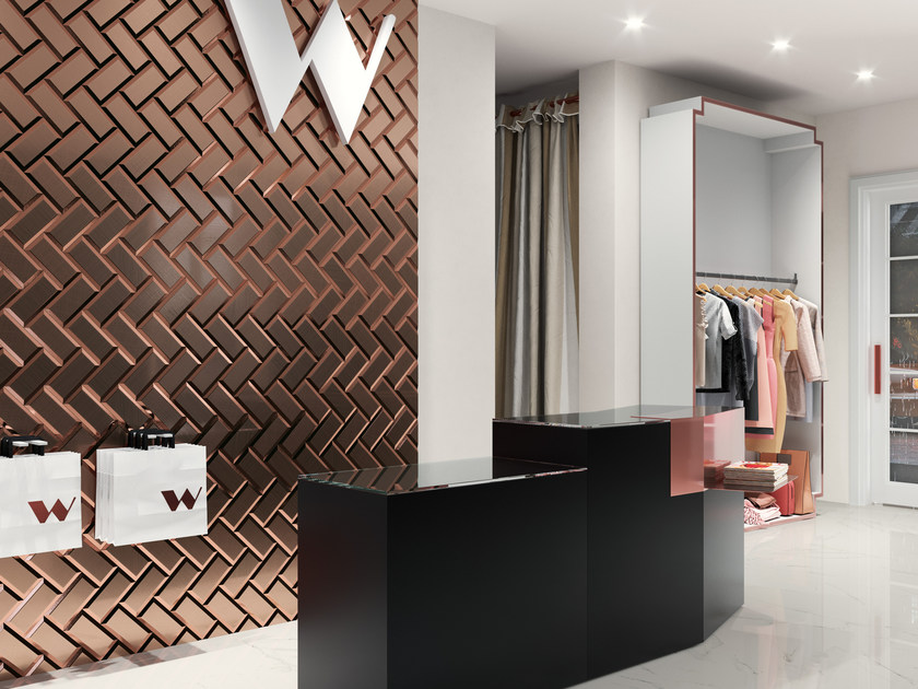 White-paste wall tiles ARTS by ZYX