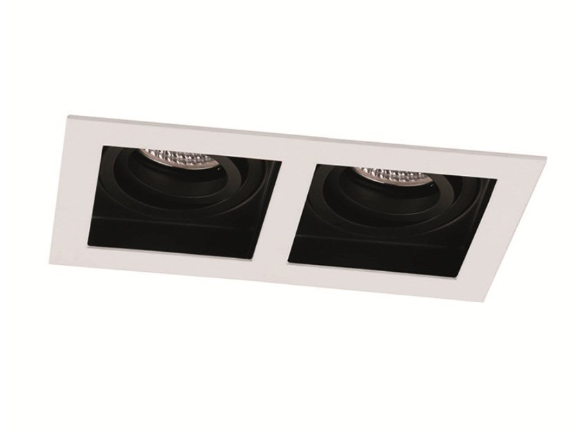 Faretto a LED orientabile in alluminio da incasso ARTSI 2 by Terzo Light