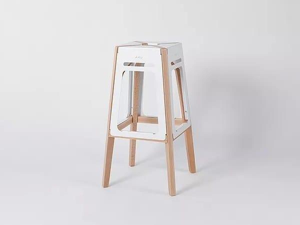 Sgabello alto in metallo ARTU by Aliticon