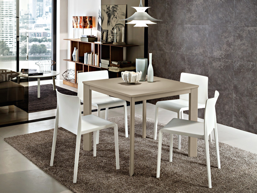 Square HPL dining table ARTUR | Square table by IDEAS Group