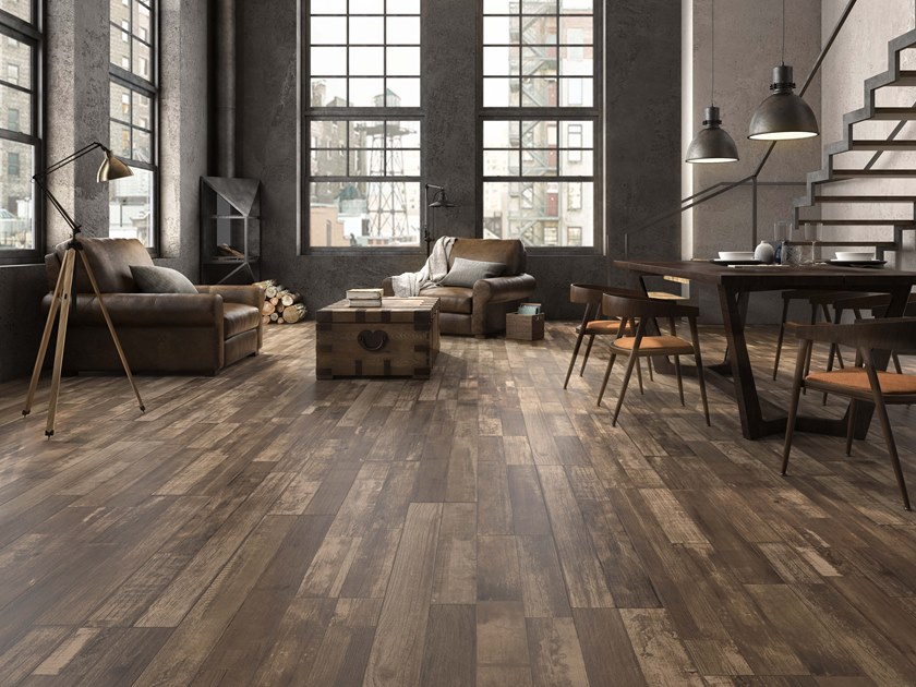 Porcelain wall/floor tiles with wood effect ARTWOOD by ITT Ceramic