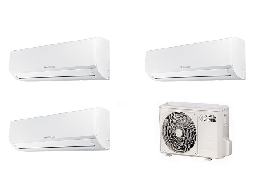 Wall mounted ceiling concealed Multi-split air conditioning unit ARYAL S1 E Inverter Multi by OLIMPIA SPLENDID