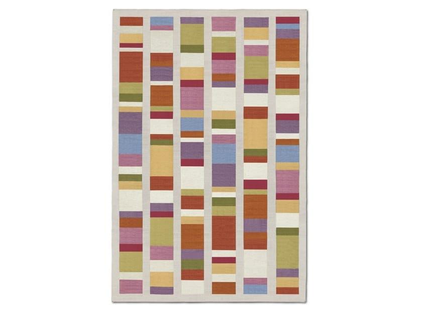 Tappeto-stuoia outdoor tessuta a mano, a quadri alternati ARZACHENA OUTDOOR by MissoniHome