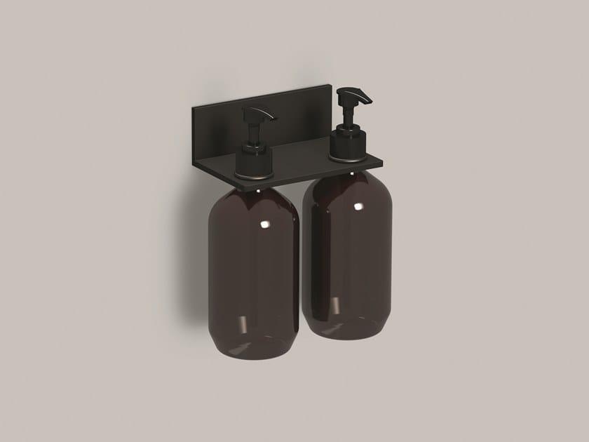 Dispenser sapone da parete in alluminio AS.134.LO2 | Mensola bagno by Alape