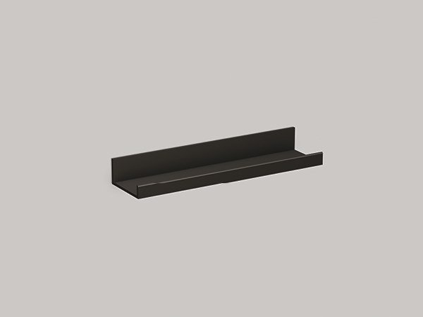 Aluminium bathroom wall shelf AS400.S | Bathroom wall shelf by Alape
