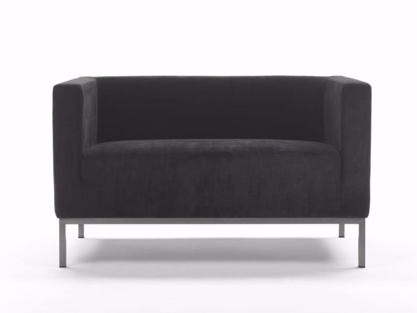 2 seater fabric sofa ASCOT | 2 seater sofa by Marelli