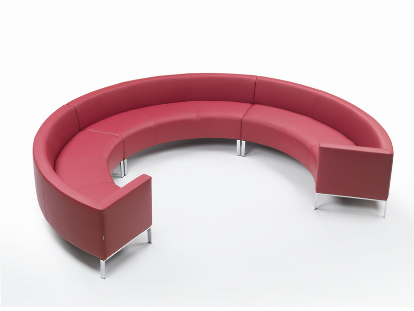 ASCOT | Curved sofa Ascot Collection By Marelli