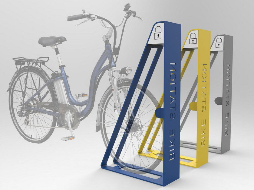 Steel Bicycle rack ASH | Bicycle rack by CITYSì
