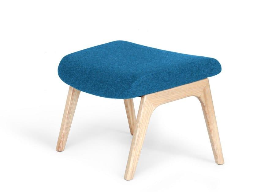 Ash footstool VOOG   Ash footstool by OOT OOT
