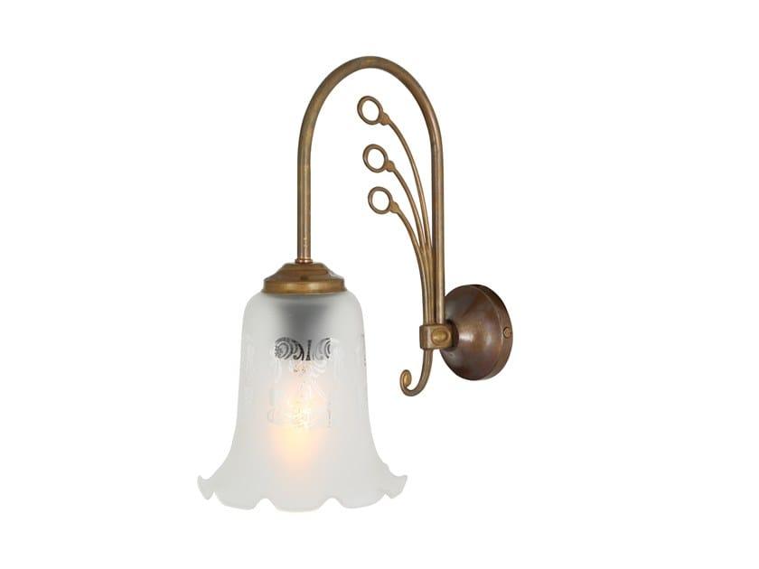 Direct light handmade wall lamp ASHFORD by Mullan Lighting