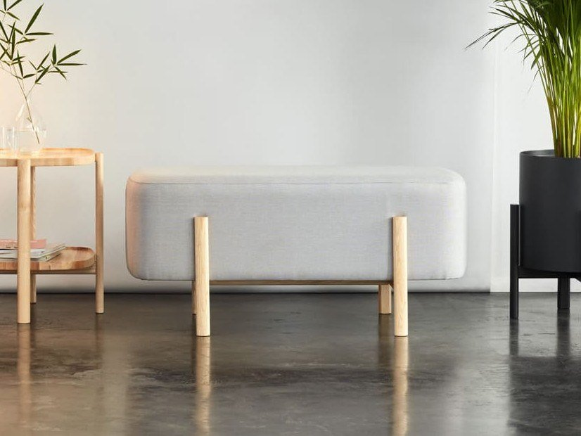 Fabric bench ASHI   Bench by Hobby Flower