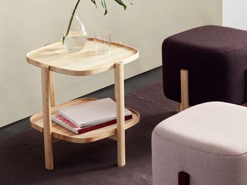 Square side table ASHI | Square coffee table by Hobby Flower