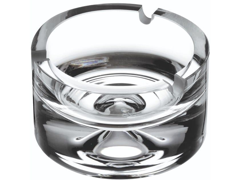 Crystal ashtray FUMO | Ashtray by NUDE