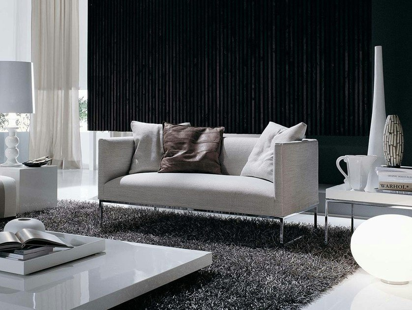Fabric small sofa ASIA SOFT | Small sofa by Frigerio Salotti