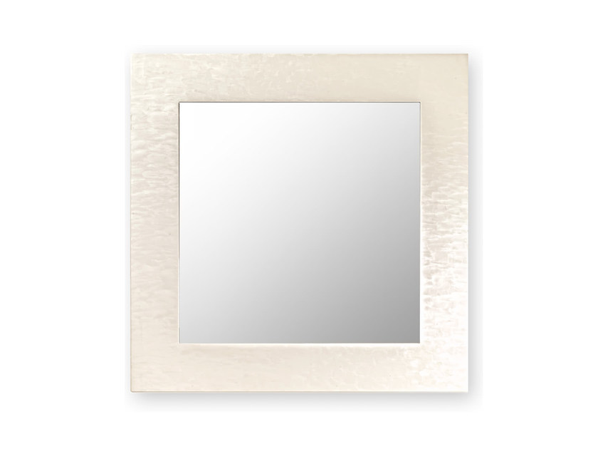 Square Wall Mounted Framed Mirror Asia By Cantori