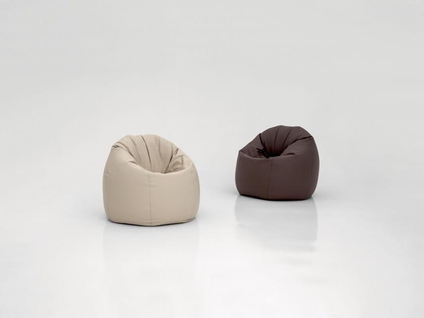 Leather bean bag ASOLA by Tonin Casa