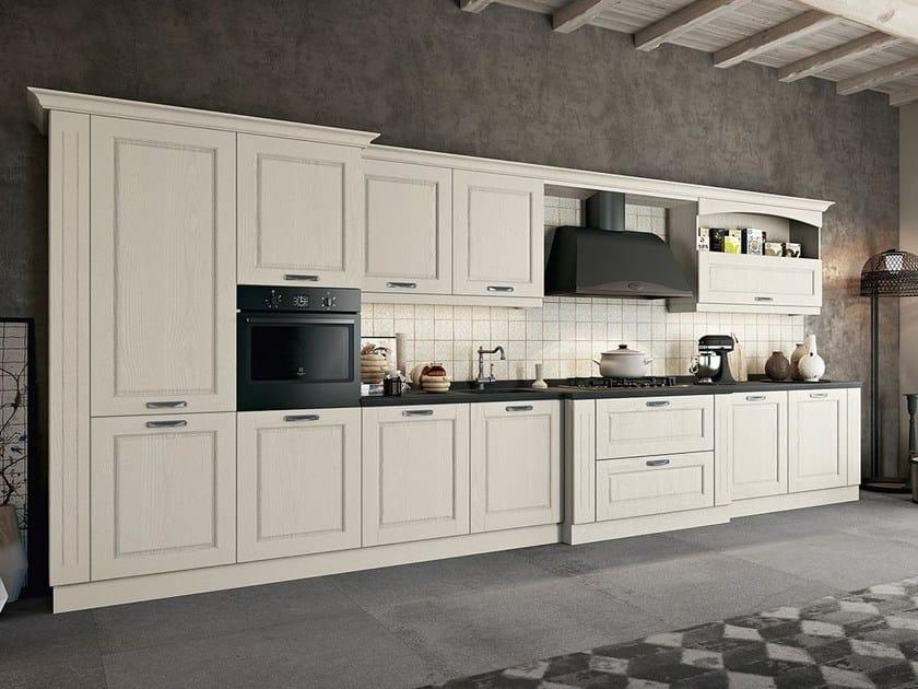 Cucina componibile laccata ASOLO | Cucina lineare By ARREDO 3