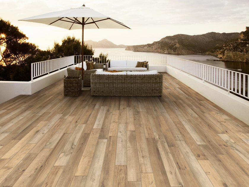 Colour Shade Indoor Outdoor Wall Floor Tiles With Wood Effect Aspen