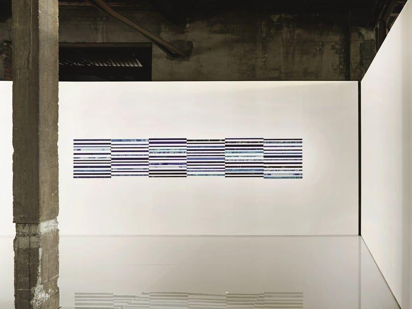 Rivestimento in vetro e lava ASSONANZE by Paola Lenti